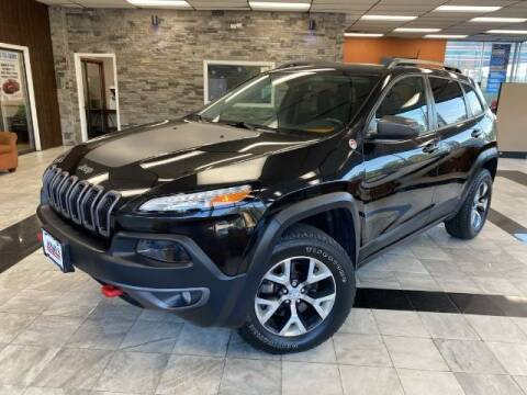 2016 Jeep Cherokee for sale at Sonias Auto Sales in Worcester MA