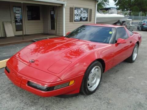 1991 Chevrolet Corvette for sale at New Gen Motors in Lakeland FL