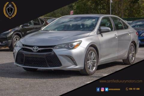 2015 Toyota Camry for sale at Certified Luxury Motors in Great Neck NY