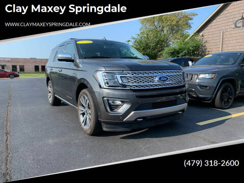 2020 Ford Expedition for sale at Clay Maxey Springdale in Springdale AR