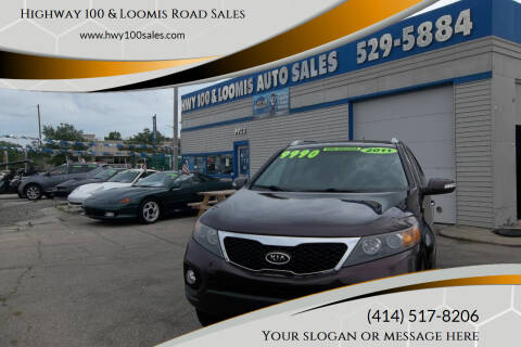 2011 Kia Sorento for sale at Highway 100 & Loomis Road Sales in Franklin WI