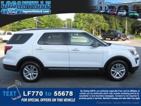 2018 Ford Explorer for sale at Loganville Ford in Loganville GA