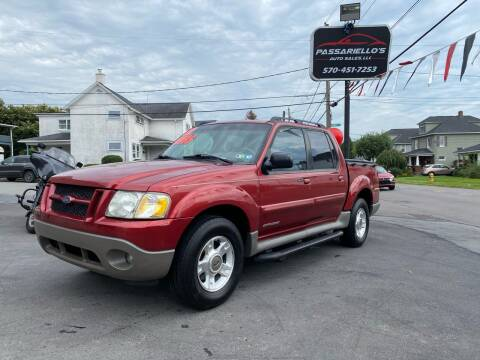 2002 Ford Explorer Sport Trac for sale at Passariello's Auto Sales LLC in Old Forge PA