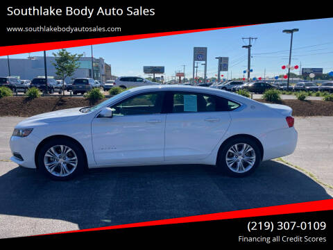 2014 Chevrolet Impala for sale at Southlake Body Auto Sales in Merrillville IN