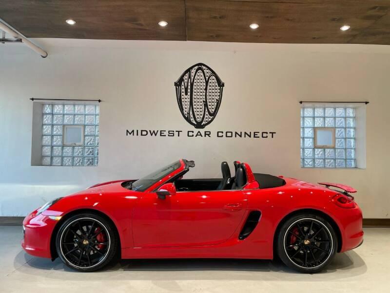 2014 Porsche Boxster for sale at Midwest Car Connect in Villa Park IL