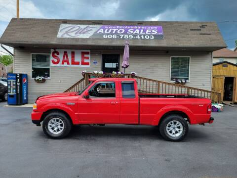 2011 Ford Ranger for sale at Ritz Auto Sales, LLC in Paintsville KY