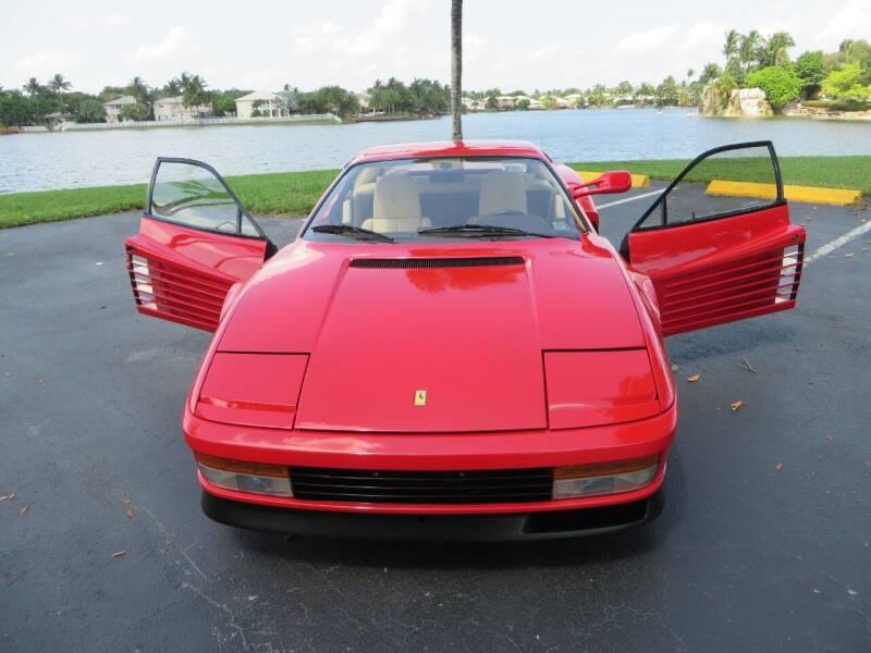 1985 Ferrari Testarossa for sale at ADVANCE AUTOMALL in Doral FL