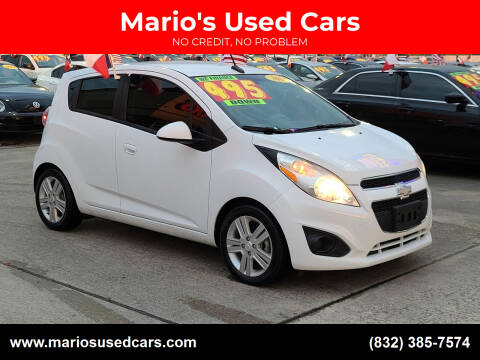 2014 Chevrolet Spark for sale at Mario's Used Cars in Houston TX