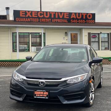 2018 Honda Civic for sale at Executive Auto in Winchester VA