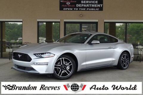 2018 Ford Mustang for sale at Brandon Reeves Auto World in Monroe NC