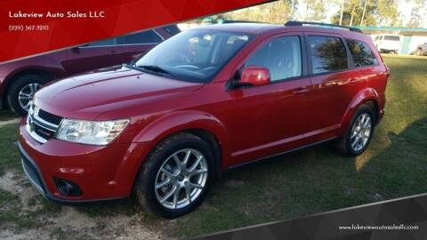 2013 Dodge Journey for sale at Lakeview Auto Sales LLC in Sycamore GA