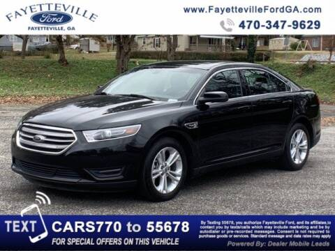 2017 Ford Taurus for sale at FAYETTEVILLEFORDFLEETSALES.COM in Fayetteville GA