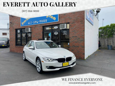2015 BMW 3 Series for sale at Everett Auto Gallery in Everett MA
