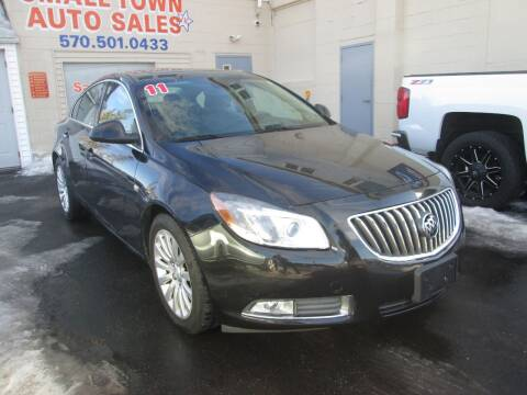 2011 Buick Regal for sale at Small Town Auto Sales in Hazleton PA