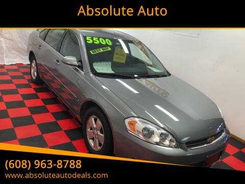 2007 Chevrolet Impala for sale at Absolute Auto in Baraboo WI