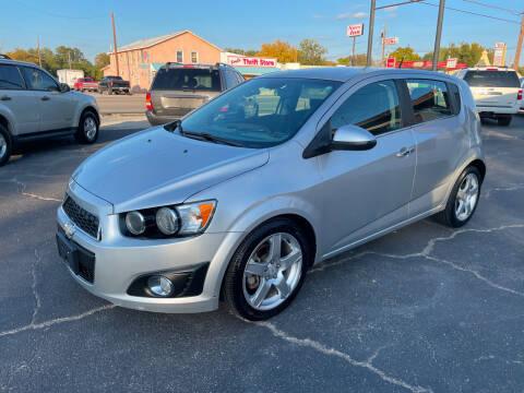 2012 Chevrolet Sonic for sale at Elliott Autos in Killeen TX