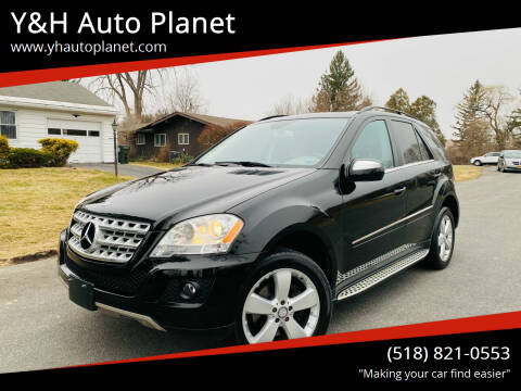 2010 Mercedes-Benz M-Class for sale at Y&H Auto Planet in West Sand Lake NY