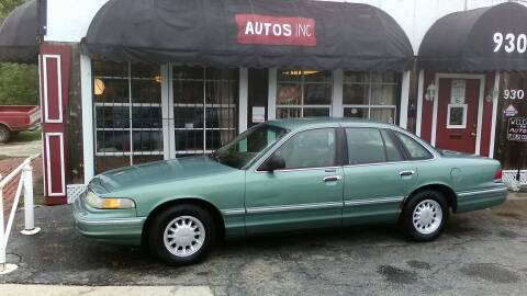 1997 Ford Crown Victoria for sale at Autos Inc in Topeka KS