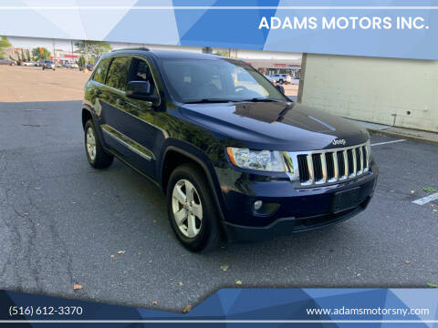 2012 Jeep Grand Cherokee for sale at Adams Motors INC. in Inwood NY