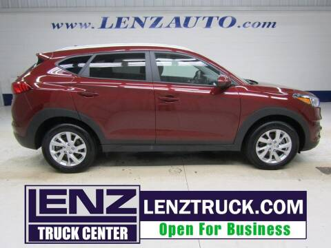 2020 Hyundai Tucson for sale at LENZ TRUCK CENTER in Fond Du Lac WI