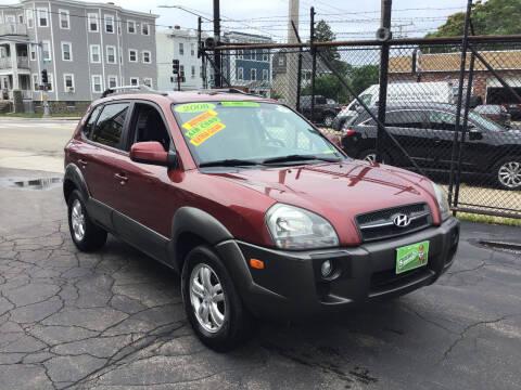 2008 Hyundai Tucson for sale at Adams Street Motor Company LLC in Boston MA