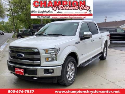 2017 Ford F-150 for sale at CHAMPION CHRYSLER CENTER in Rockwell City IA