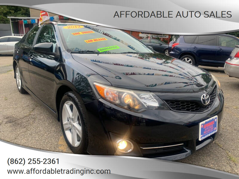 2012 Toyota Camry for sale at Affordable Auto Sales in Irvington NJ