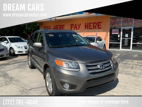 2012 Hyundai Santa Fe for sale at DREAM CARS in Stuart FL