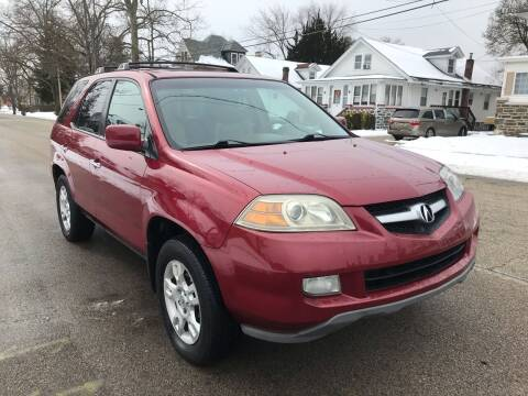 2005 Acura MDX for sale at Michaels Used Cars Inc. in East Lansdowne PA