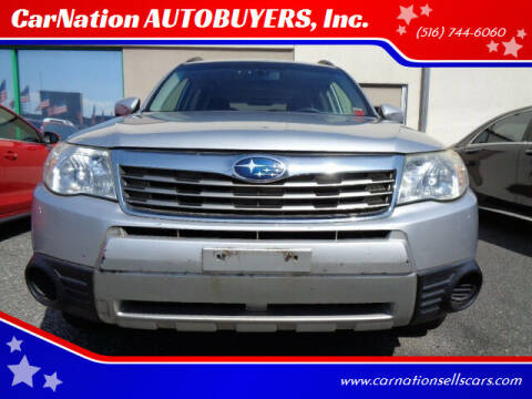 2010 Subaru Forester for sale at CarNation AUTOBUYERS Inc. in Rockville Centre NY
