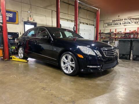 2012 Mercedes-Benz E-Class for sale at Abrams Automotive Inc in Cincinnati OH