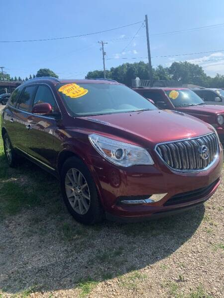 2017 Buick Enclave for sale at Hillside Motor Sales in Coldwater MI