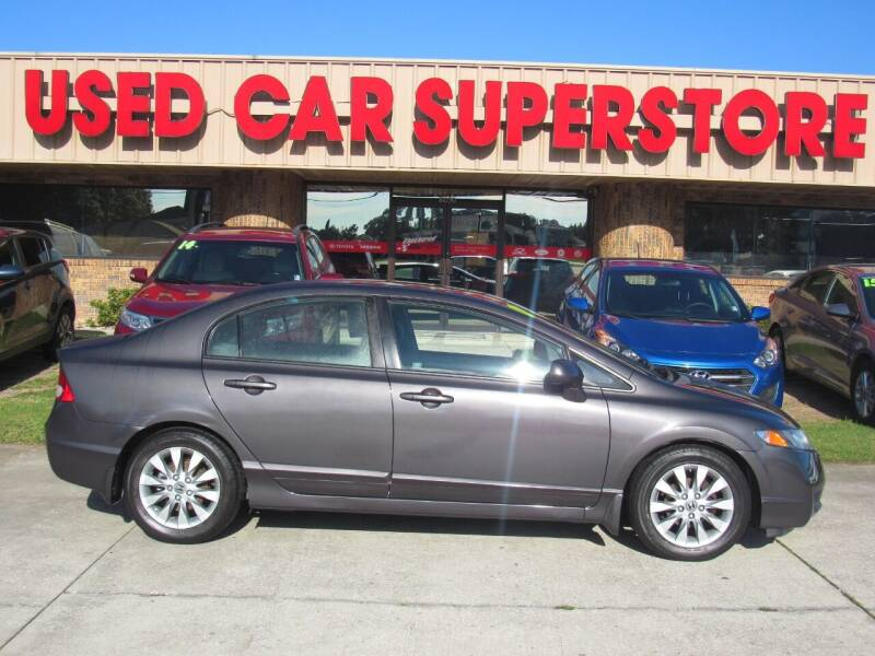 2010 Honda Civic for sale at Checkered Flag Auto Sales NORTH in Lakeland FL
