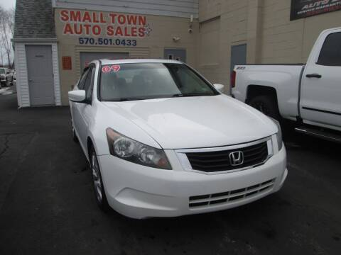 2009 Honda Accord for sale at Small Town Auto Sales in Hazleton PA