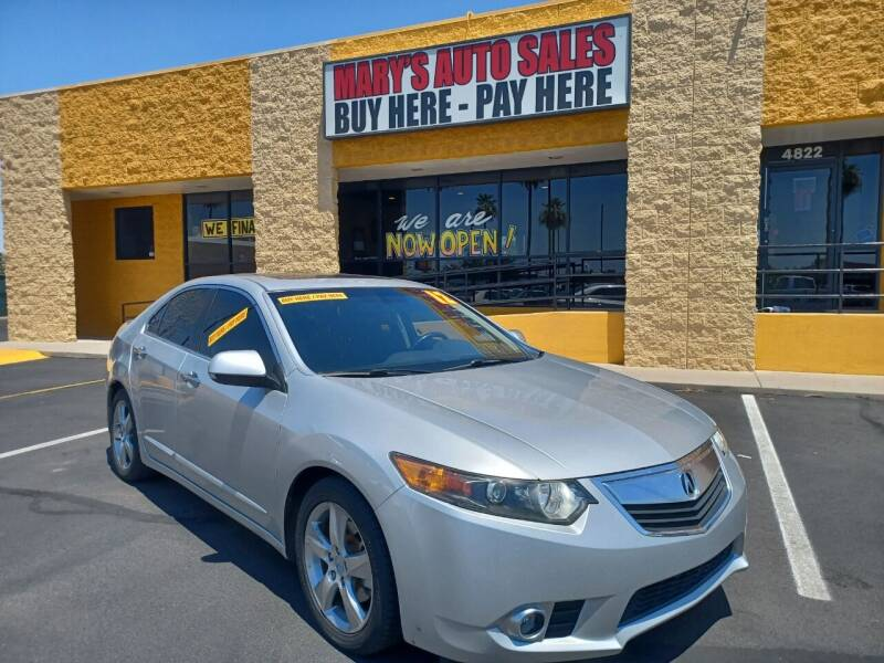2012 Acura TSX for sale at Marys Auto Sales in Phoenix AZ