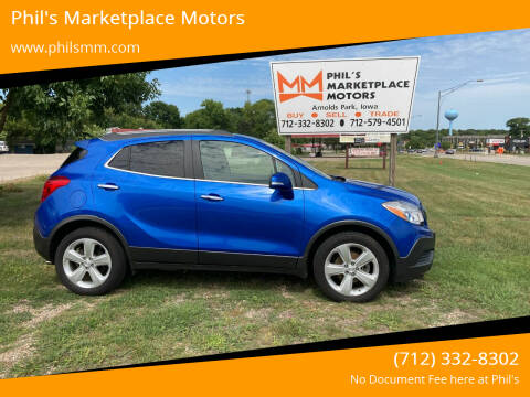 2015 Buick Encore for sale at Phil's Marketplace Motors in Arnolds Park IA