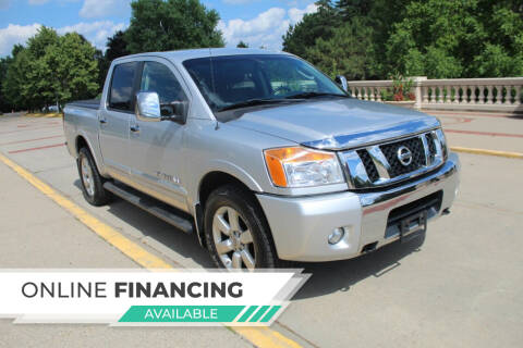 2011 Nissan Titan for sale at K & L Auto Sales in Saint Paul MN