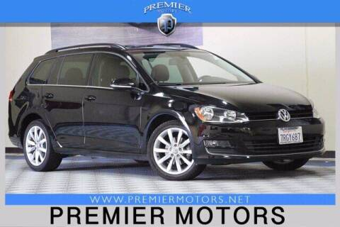 2016 Volkswagen Golf SportWagen for sale at Premier Motors in Hayward CA