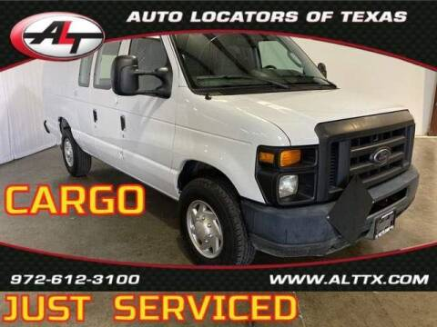 2013 Ford E-Series Cargo for sale at AUTO LOCATORS OF TEXAS in Plano TX