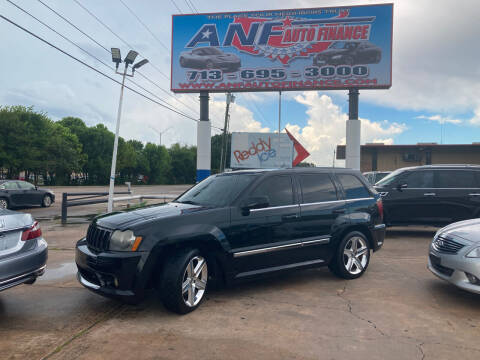 2007 Jeep Grand Cherokee for sale at ANF AUTO FINANCE in Houston TX