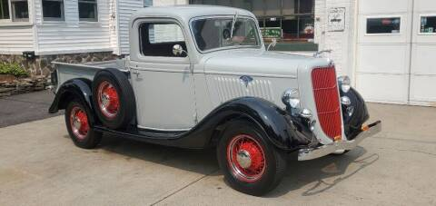 1935 Ford F-100 for sale at Carroll Street Auto in Manchester NH
