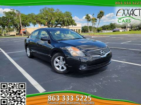 2008 Nissan Altima for sale at Exxact Cars in Lakeland FL