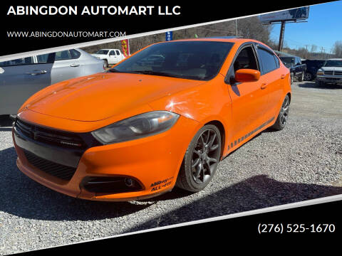 2014 Dodge Dart for sale at ABINGDON AUTOMART LLC in Abingdon VA