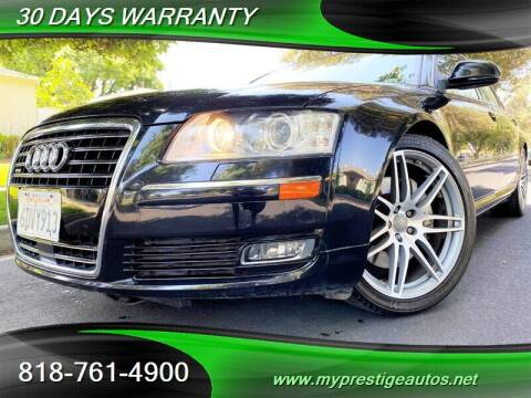 2008 Audi A8 L for sale at Prestige Auto Sports Inc in North Hollywood CA