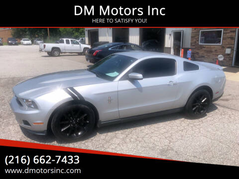 2010 Ford Mustang for sale at DM Motors Inc in Maple Heights OH