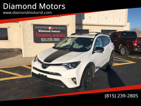 2018 Toyota RAV4 for sale at Diamond Motors in Pecatonica IL