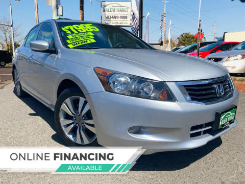 2008 Honda Accord for sale at Salem Auto Market in Salem OR