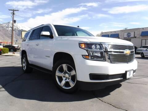 2015 Chevrolet Tahoe for sale at Platinum Auto Sales in Provo UT