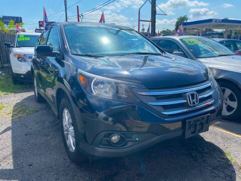 2014 Honda CR-V for sale at GRAND USED CARS  INC in Little Ferry NJ