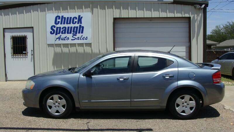 2008 Dodge Avenger for sale at Chuck Spaugh Auto Sales in Lubbock TX